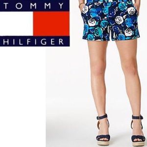 Tommy Hilfiger Floral Print Twill Chino Shorts 2